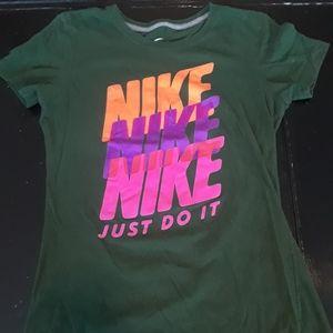 Nike green t-shirt